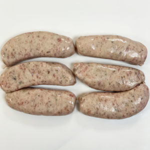 6 Pork Cumberland Sausages