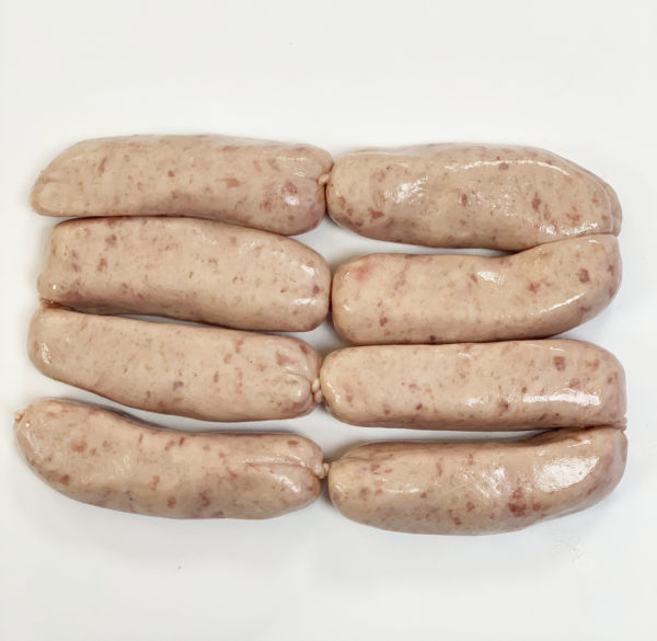 8 Plain Pork Sausages