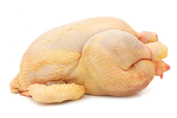 Whole free range chicken