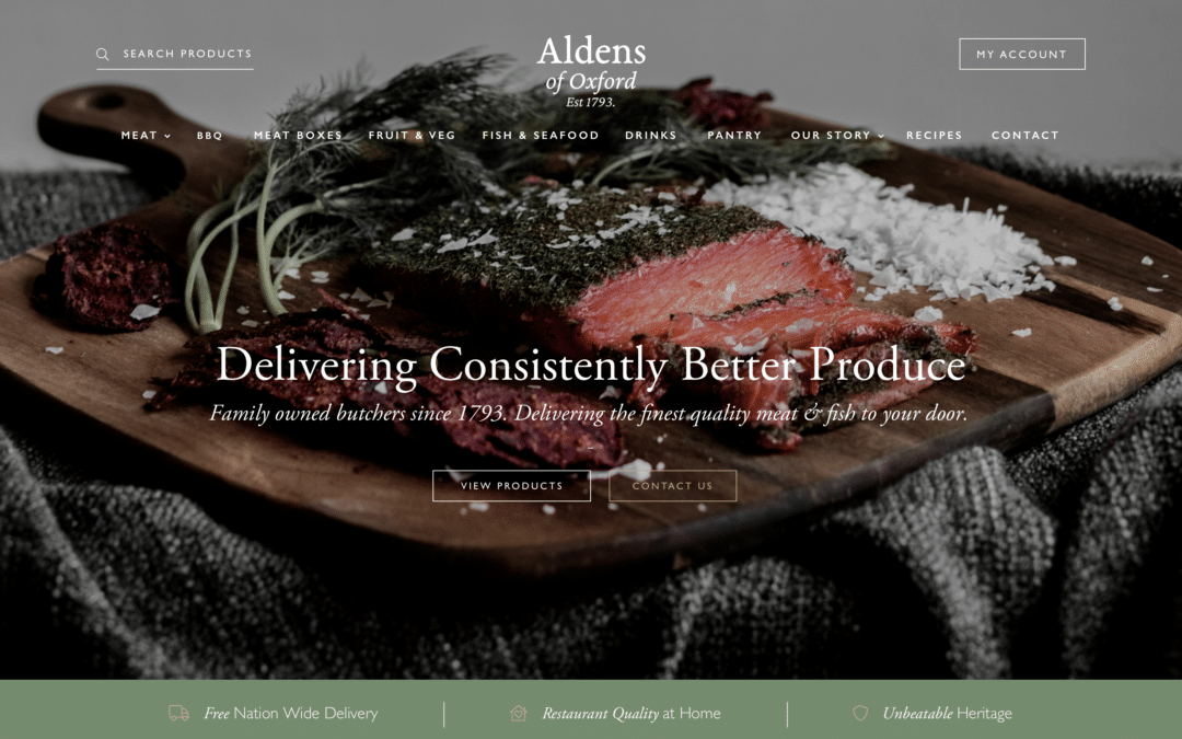 New website coming soon!